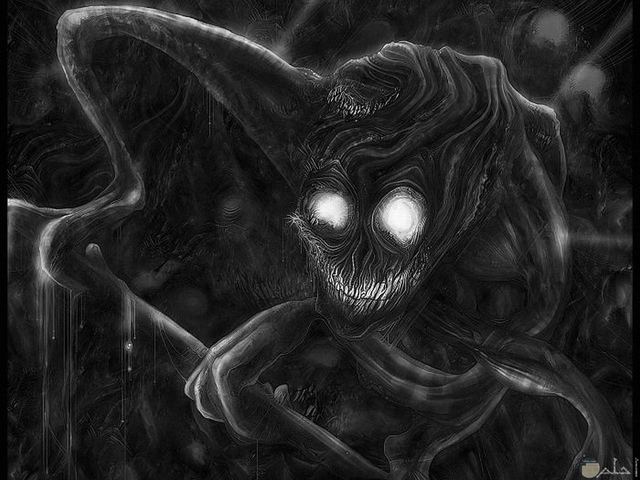 الوحش المرعب.