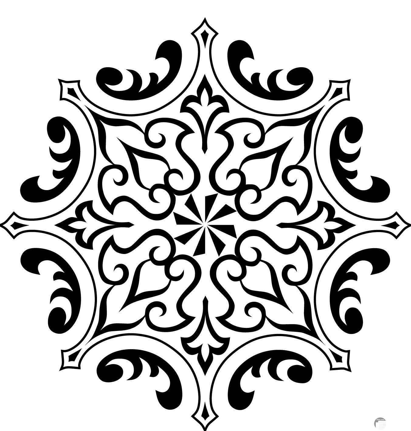 شكل جميل للزخارف الاسلامية جميل جدا