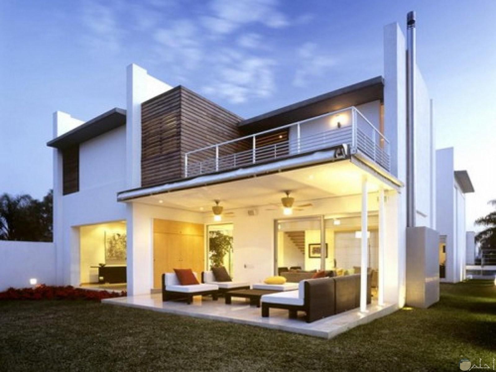 منزل جميل فى الأبيض المميز.