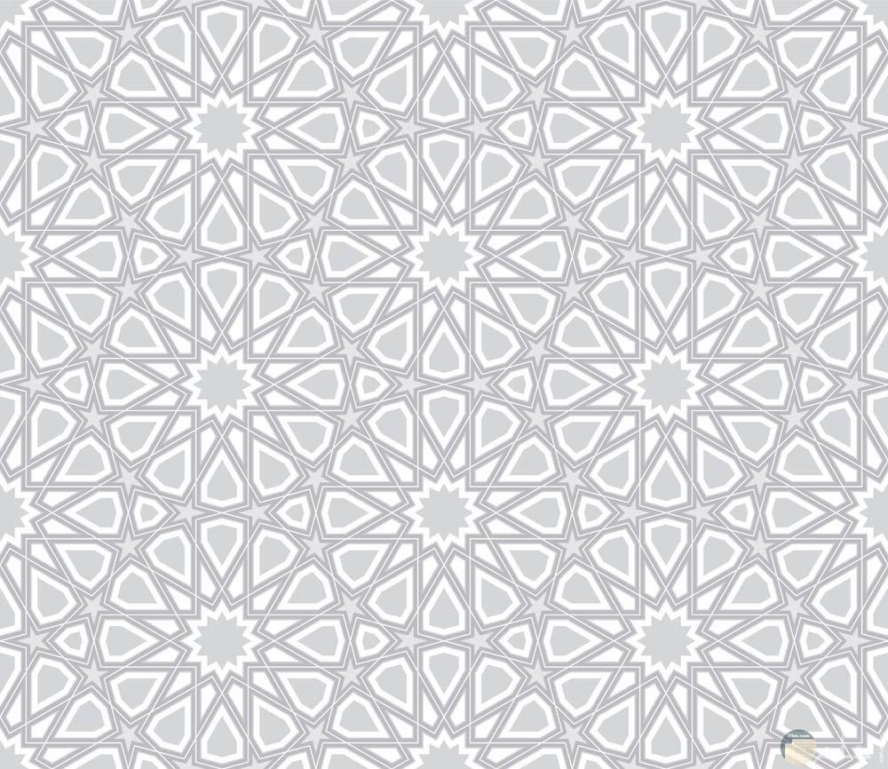 رسومات مزخرفة اسلامية بطريقة مميزة