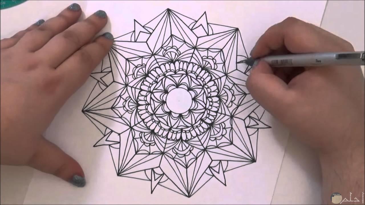 رسم دقيق بالطريقة الاسلامية