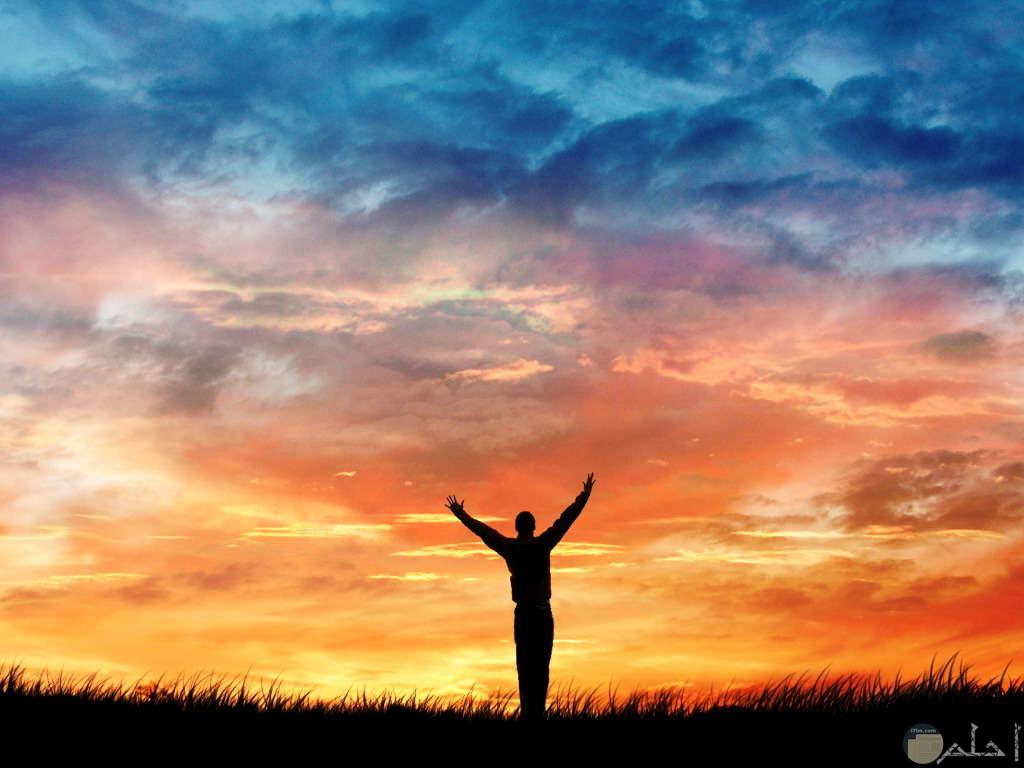 نشوة الفرح و الإنتصار.
