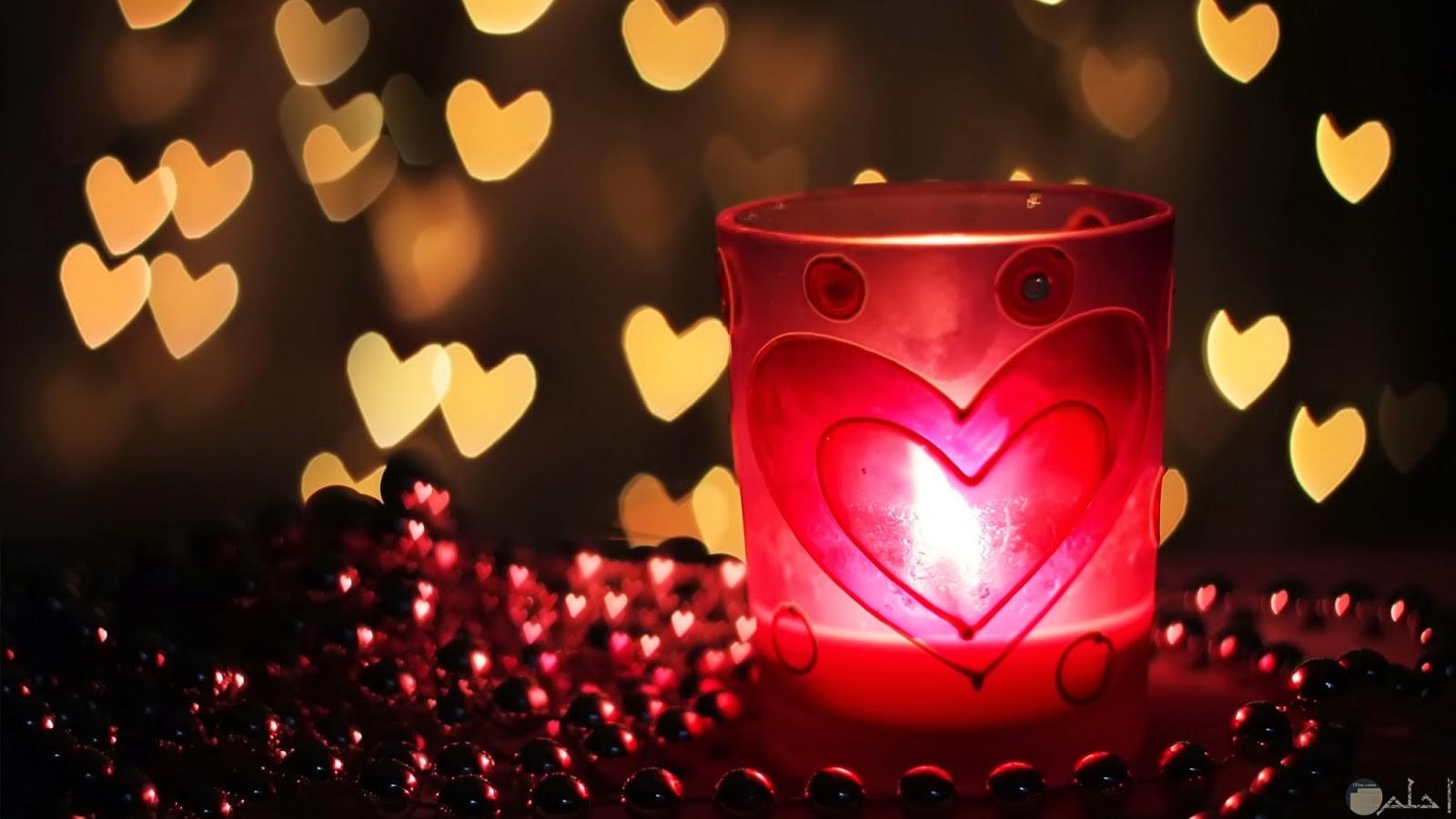 نور الحب و الهوى.
