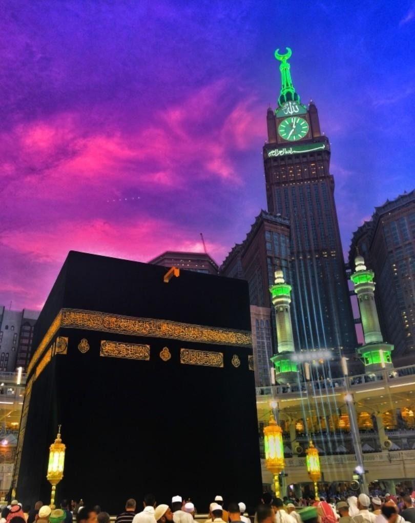 الكعبة هى بؤرة الإسلام.