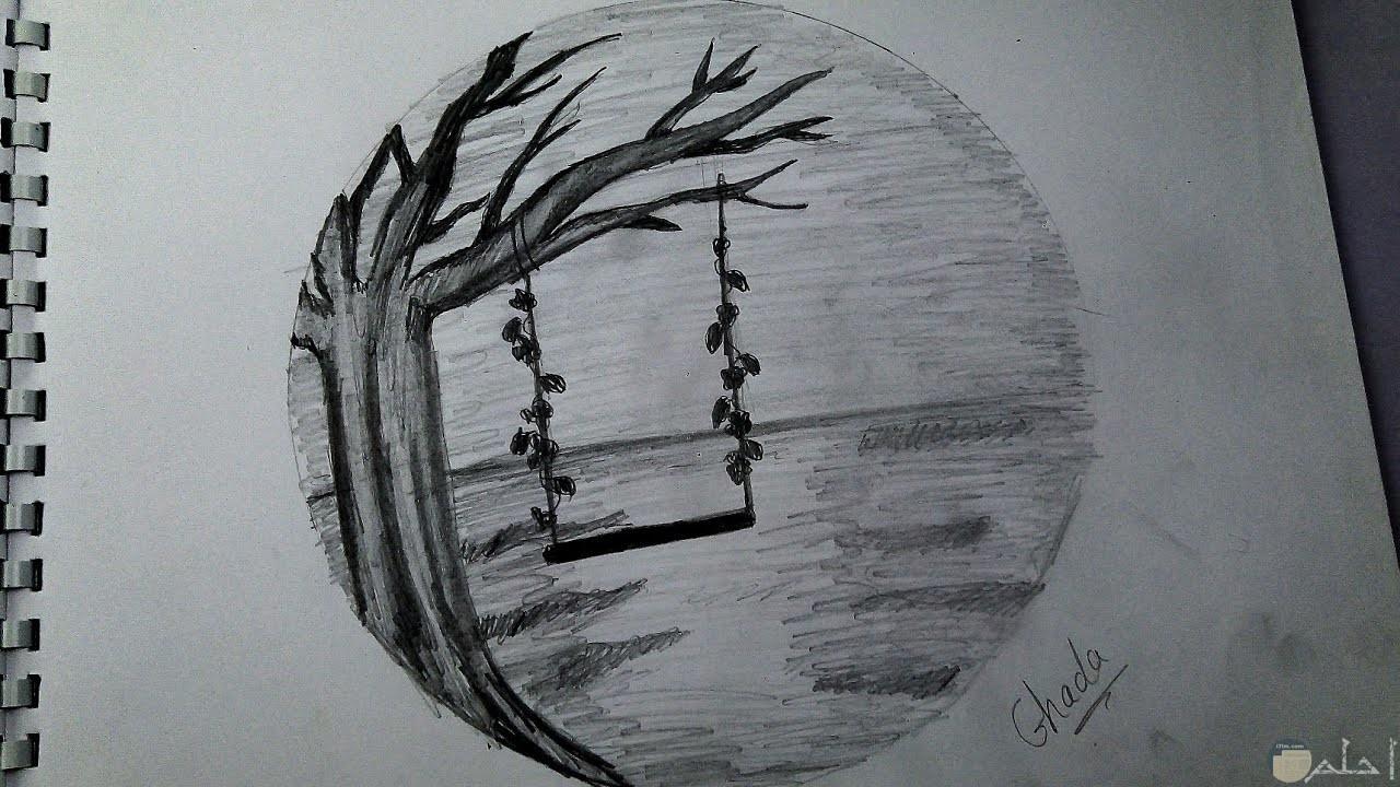 أبيض وأسود رسم صورة ظلية الكرتون التوضيح قلم بسيط ظهر الشخص