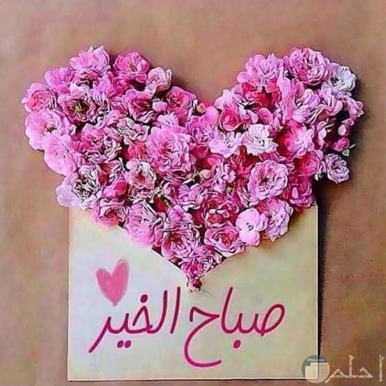 صباح الخير مع الورود