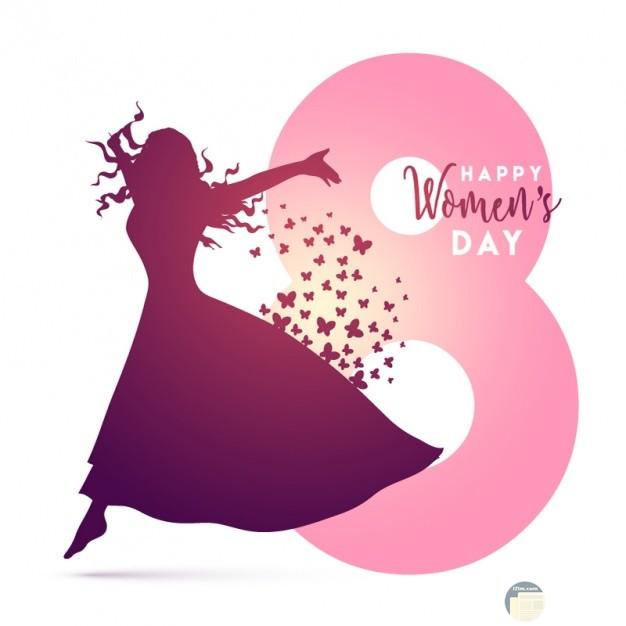 تصميم رائع ليوم المرأة العالمي.