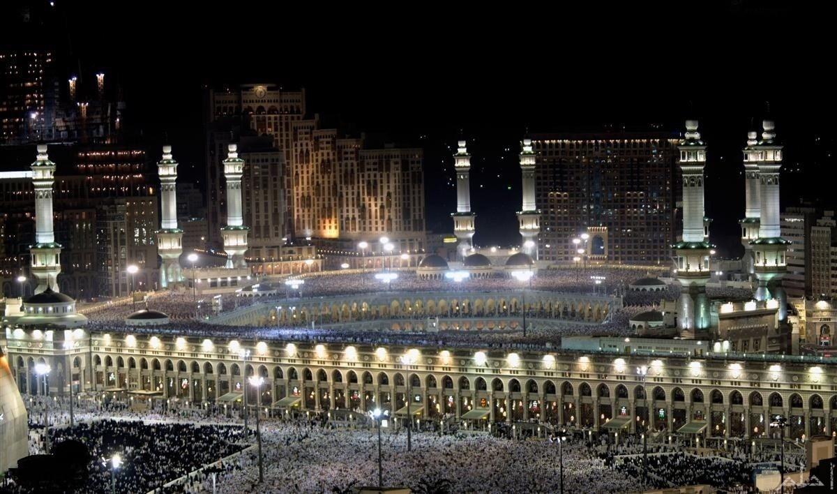 جمال العالم فى مكة المكرمة.