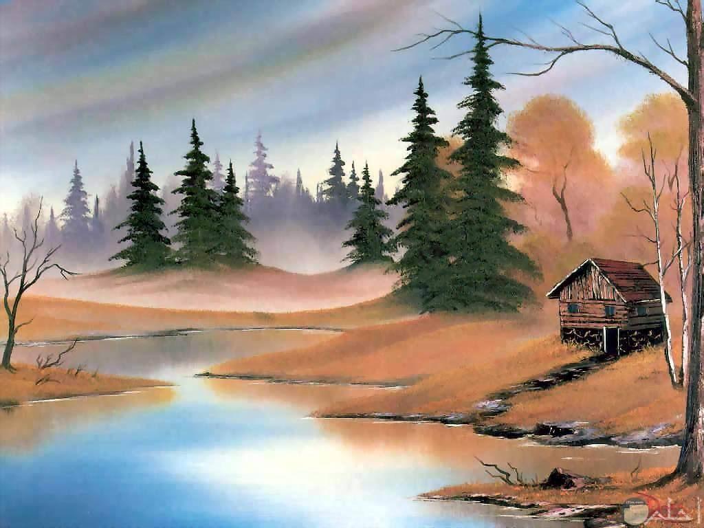 ابداع فني في صوره بالوان الزيت