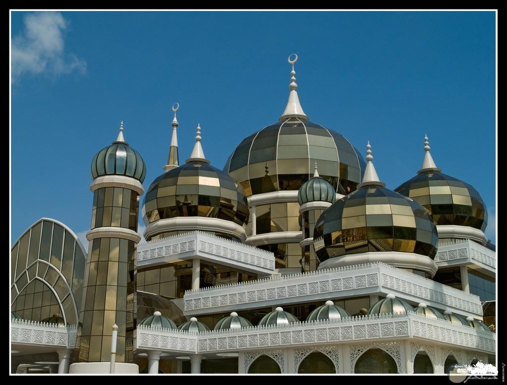 مسجد تاج محل بالهند.