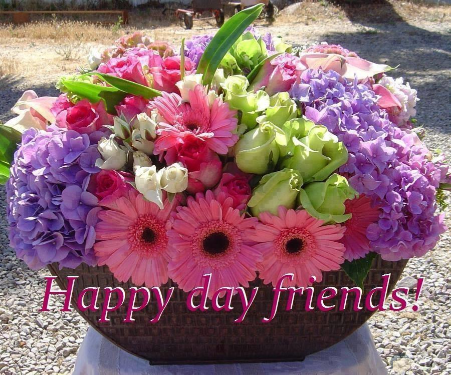 يوم سعيد يا اصدقائي
