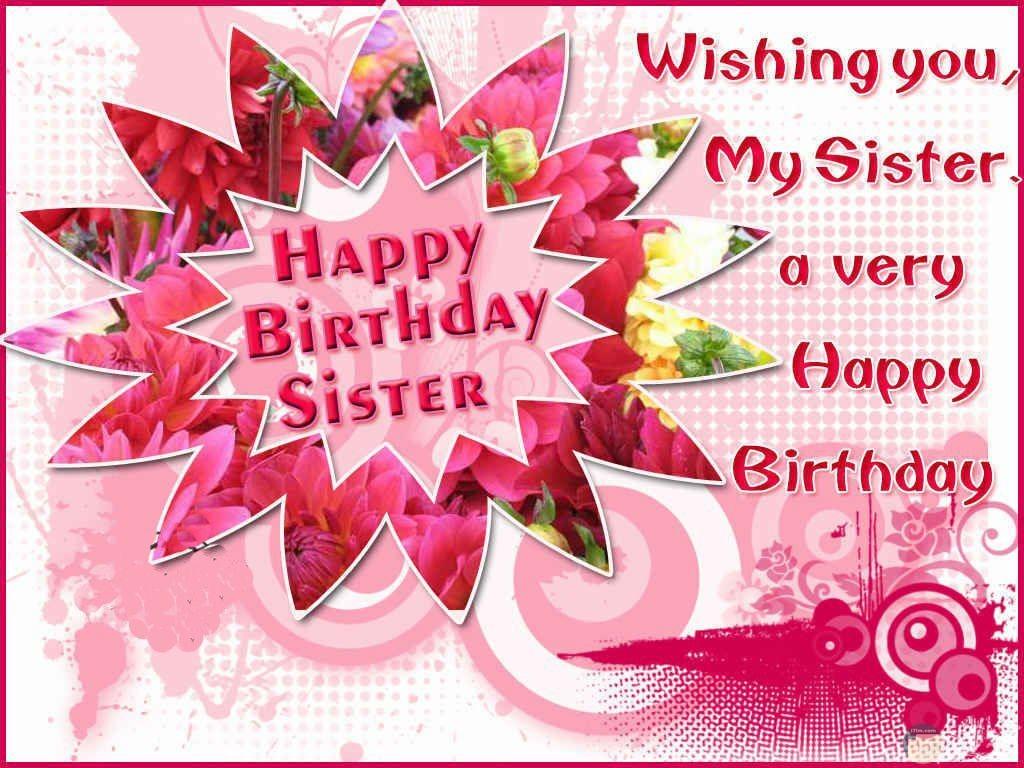 تمني أمنية للأخت في عيد ميلادها Happy birthday sister