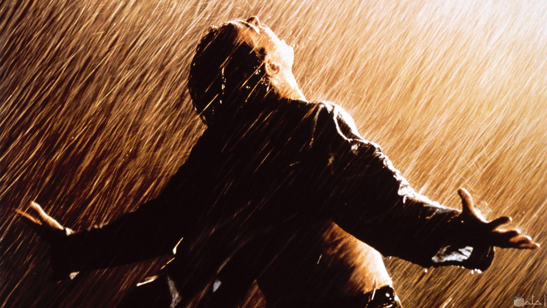 صورة تعبر عن حب المطر.
