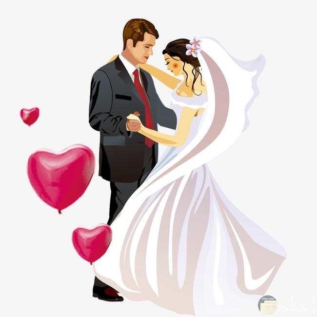 كابل رومانسي متزوجين
