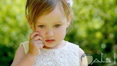 صورة طفلة جميلة.