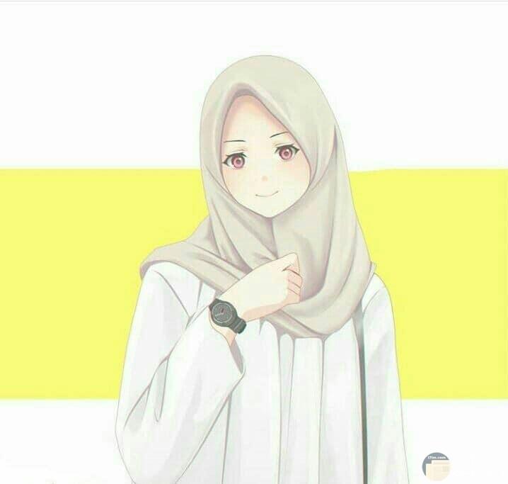 صورة بنت محجبة رقيقة