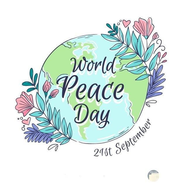 يوم السلام العالمي بالإنجليزية.