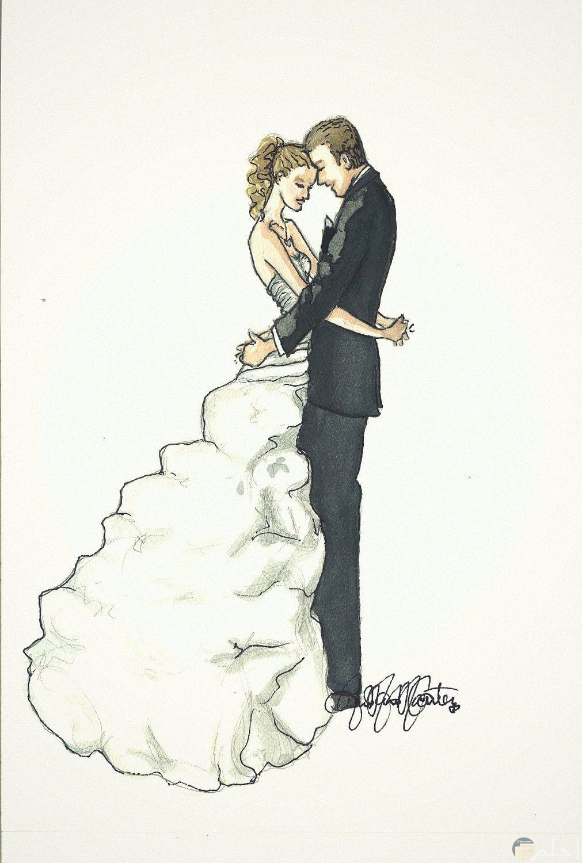 رومانسية الزفاف و العروسين.