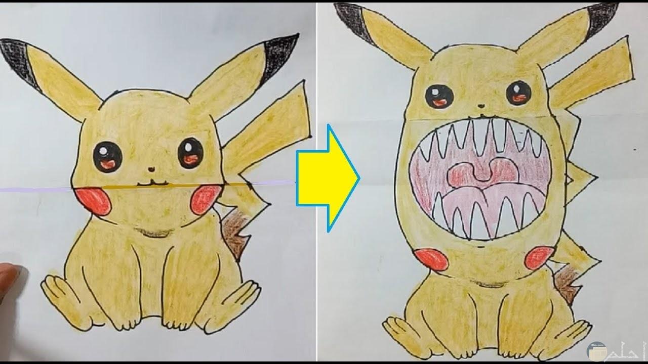 تحويل الشخصيات الكرتونية الكيوت إلى العكس بشكل مضحك.