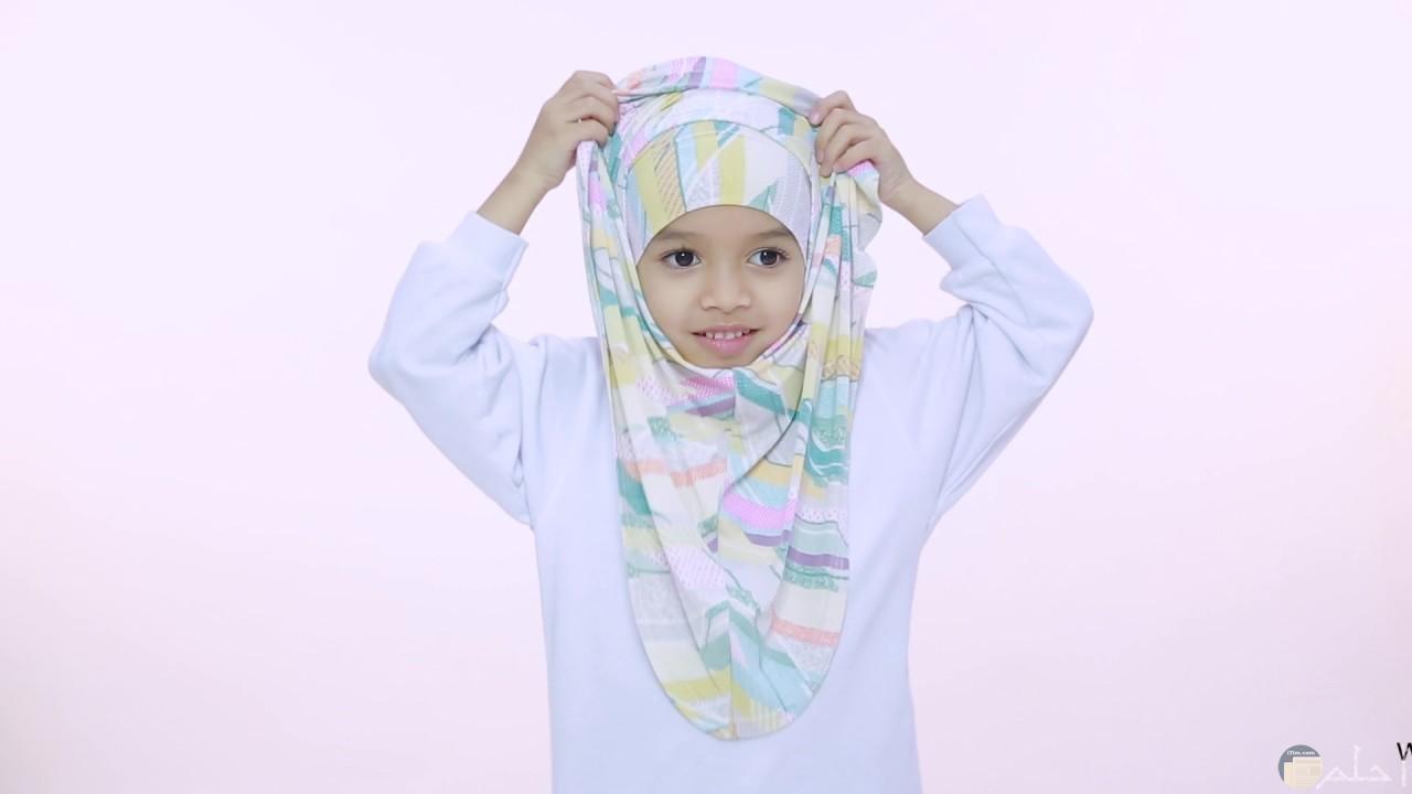 حجاب لطفلة صغيرة جميل.