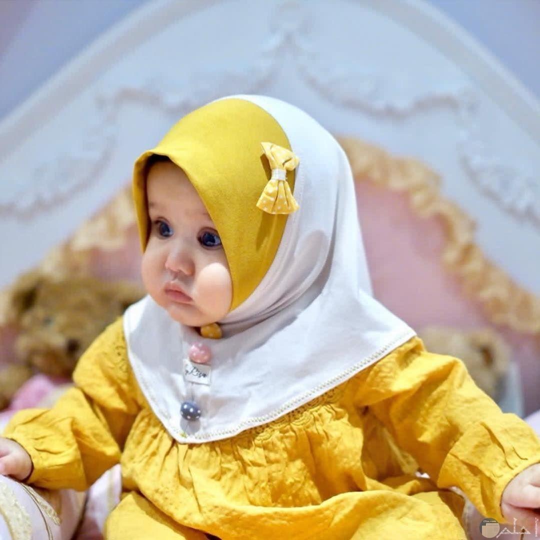 استايل حجاب لبنت صغيرة جديد و جميل جداً.
