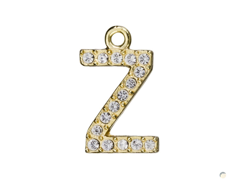 تصميم لسلسلة ذهب حرف z