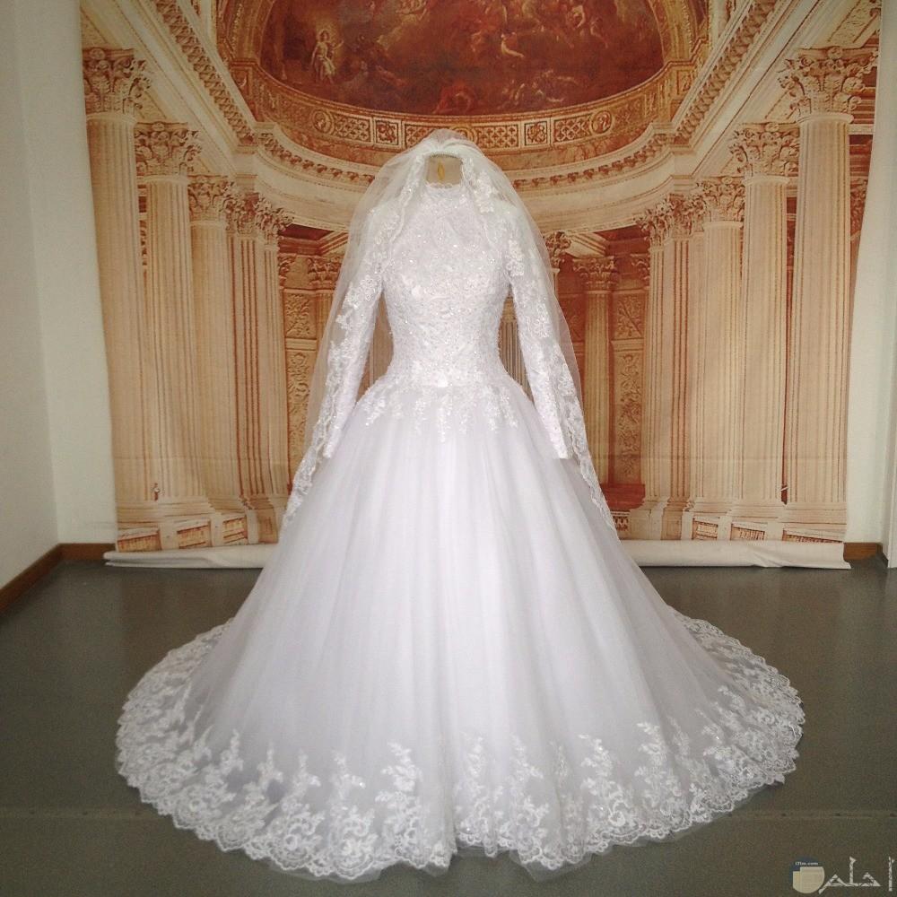 فستان بكم زفاف للمحجبات