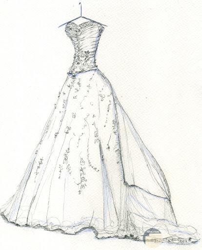 فستان رقيق و شيك.
