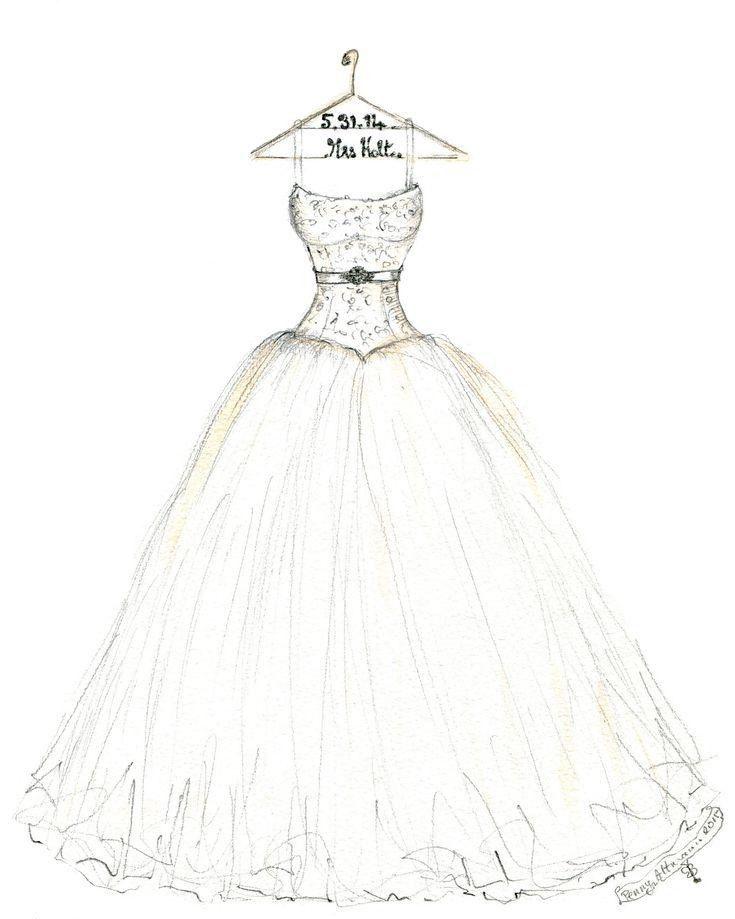 فستان فرح جديد و جميل.