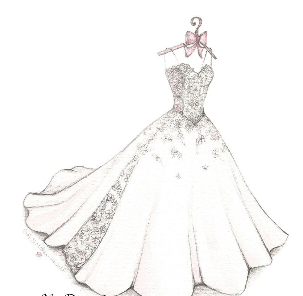 فستان فرح موديرن بألوان و تصميم عصري.