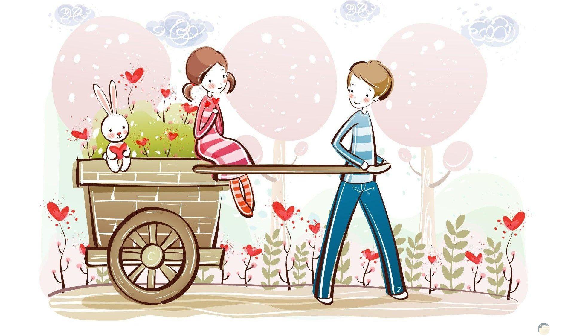 خلفيات رومانسية Wallpaper
