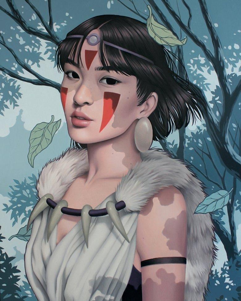 الاميرة منونوك - princess mononoke