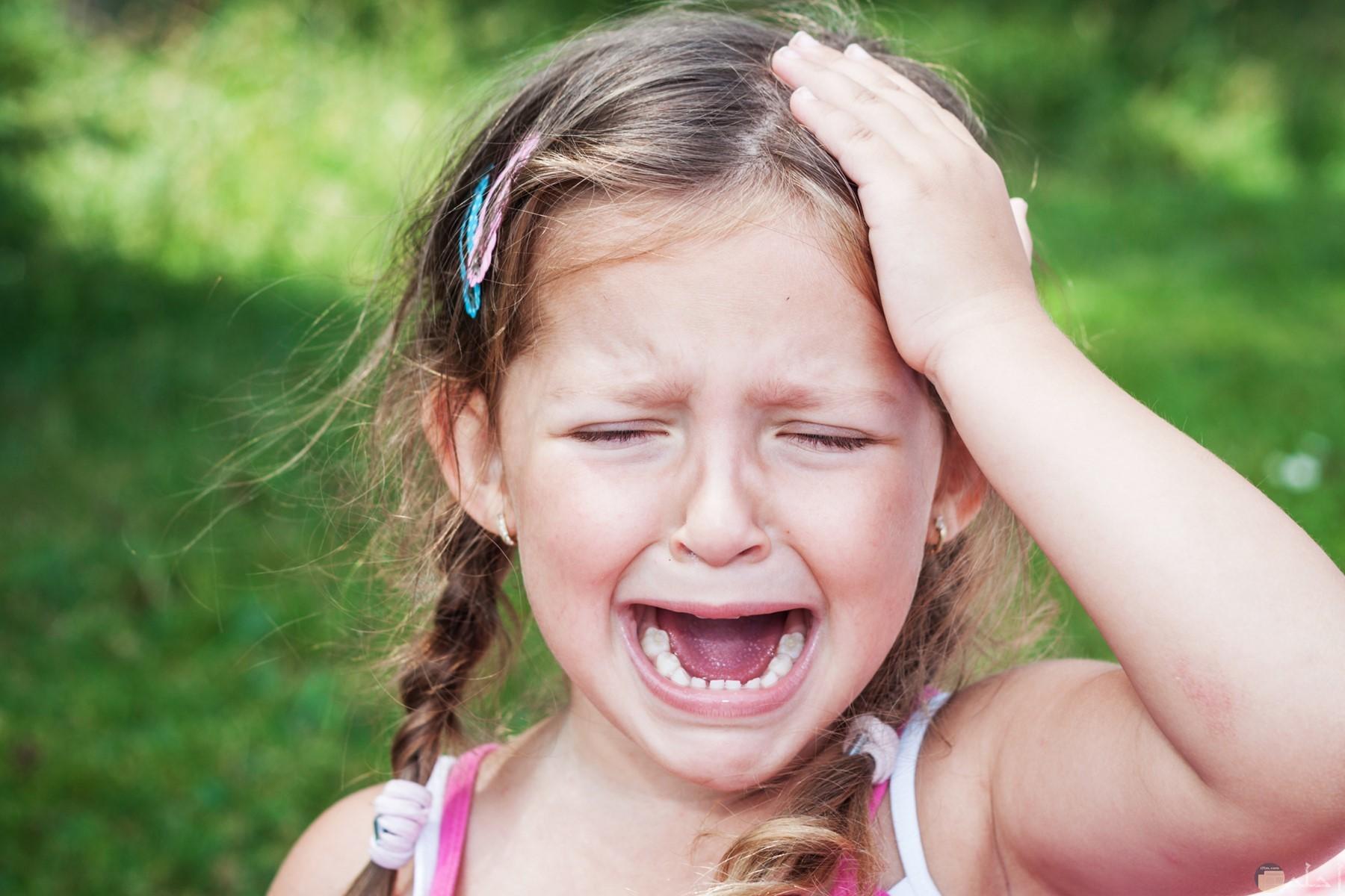 من اكثر الصور المعبرة عن حزن الاطفال البنات