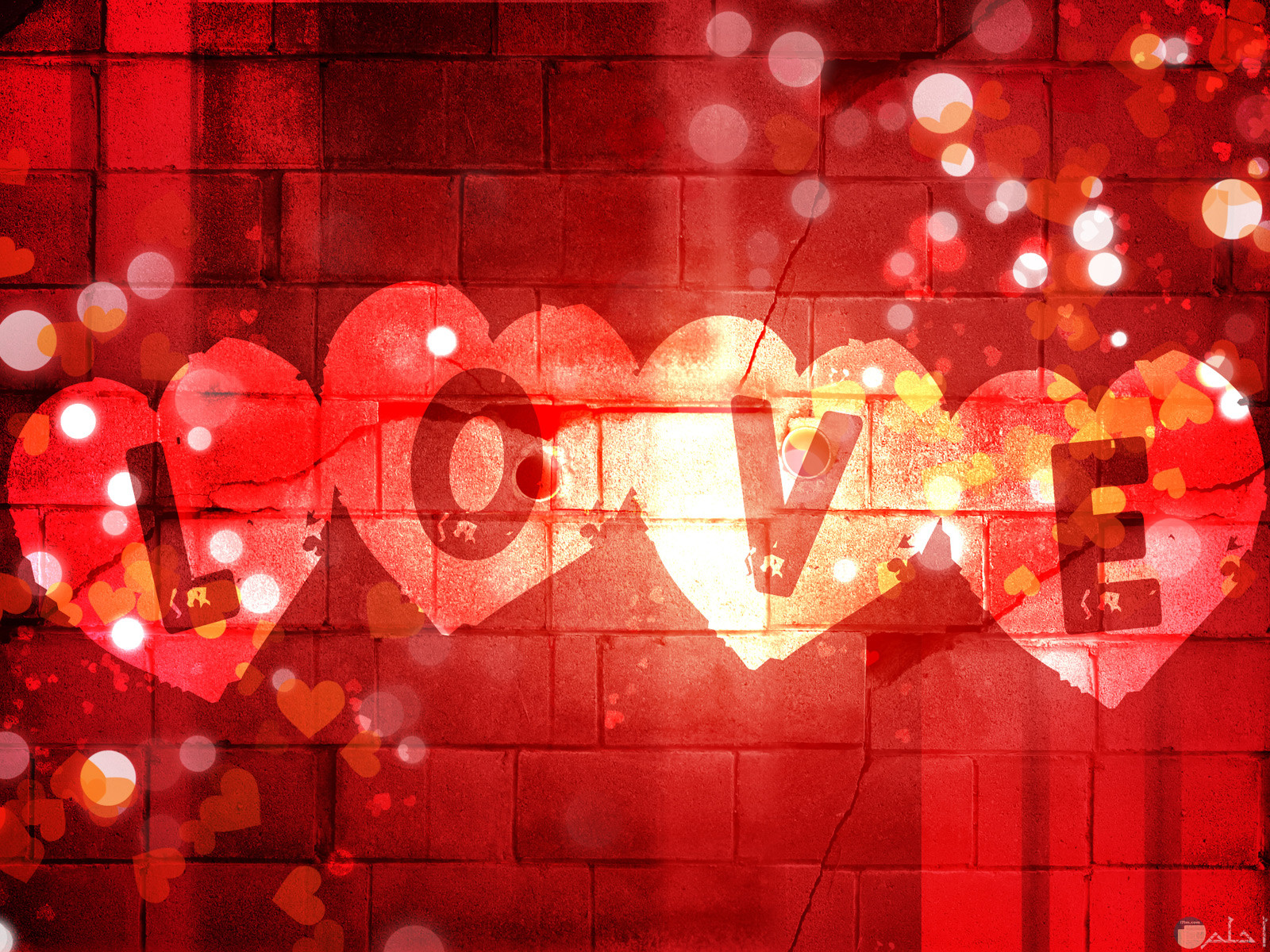 صورة كلمة حب خلفية فيس بوك.