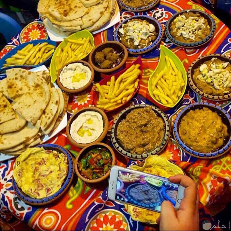 وجبات غذائية جميلة لسحور رمضان