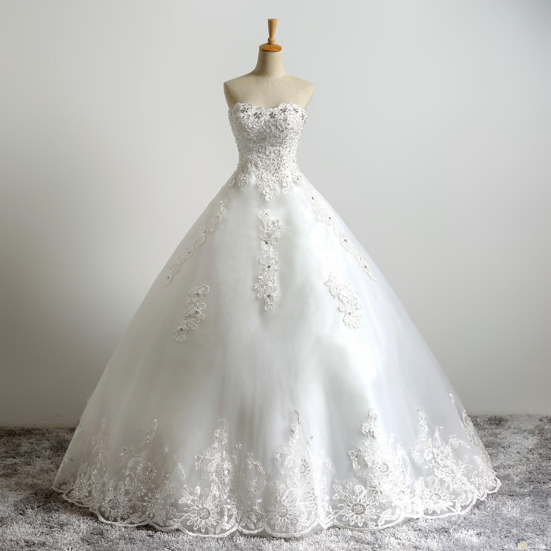 فستان زفاف كب