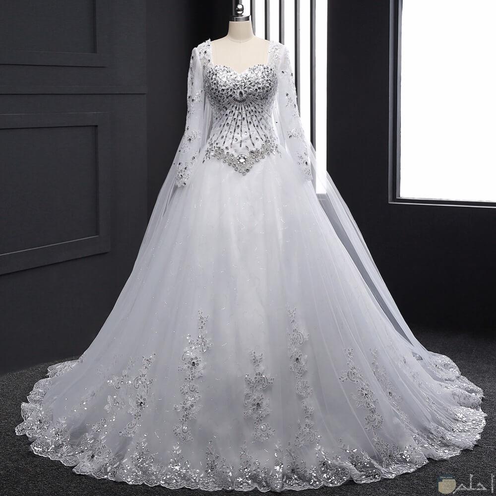 فستان حلو جدا جدا زفاف