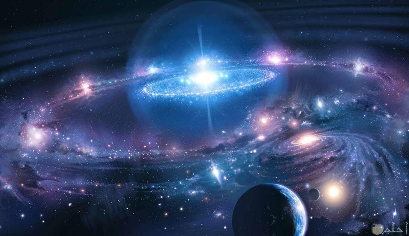 لقطات جميلة جدا للفضاء والكواكب