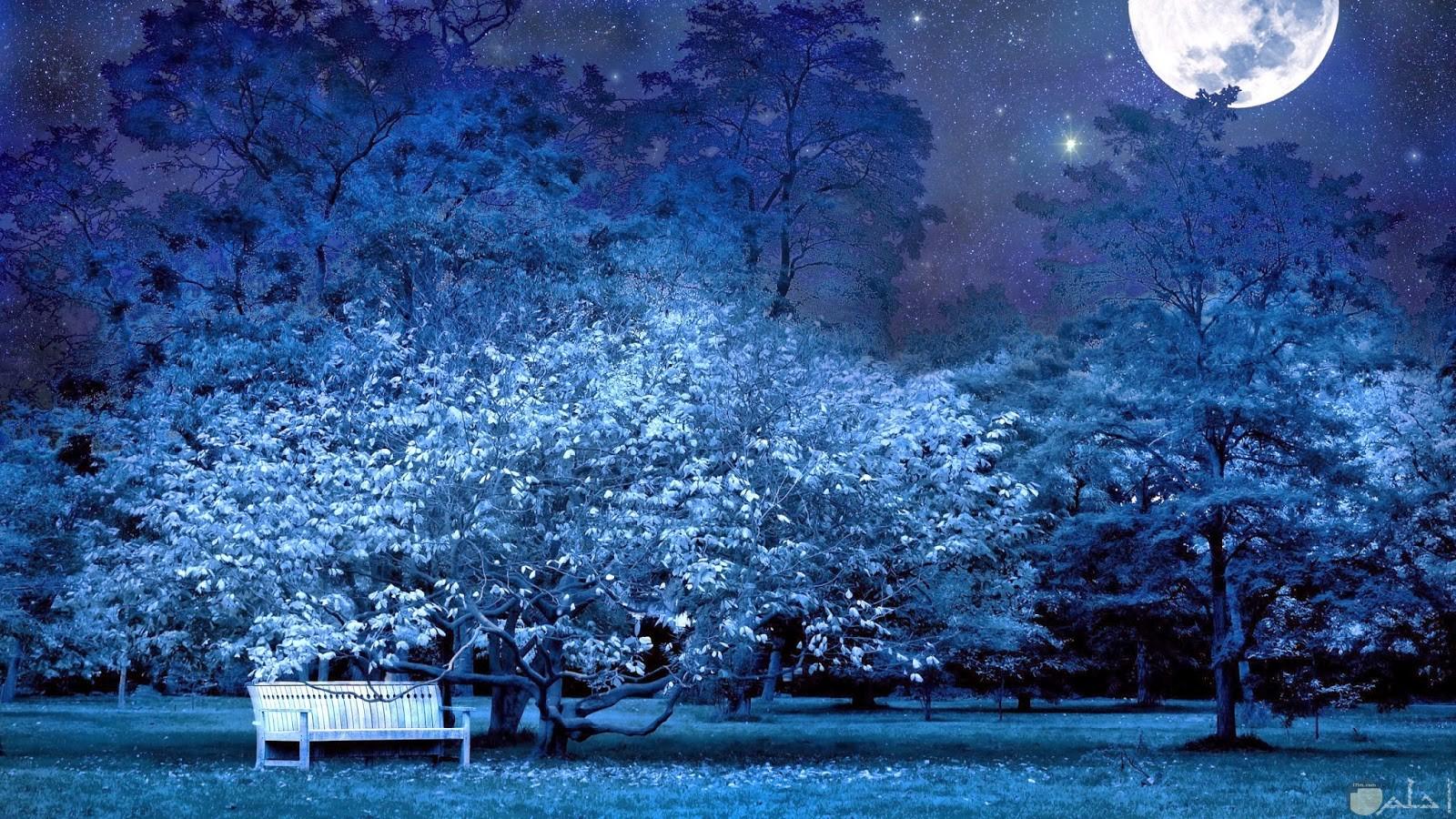 من اجمل صور القمر