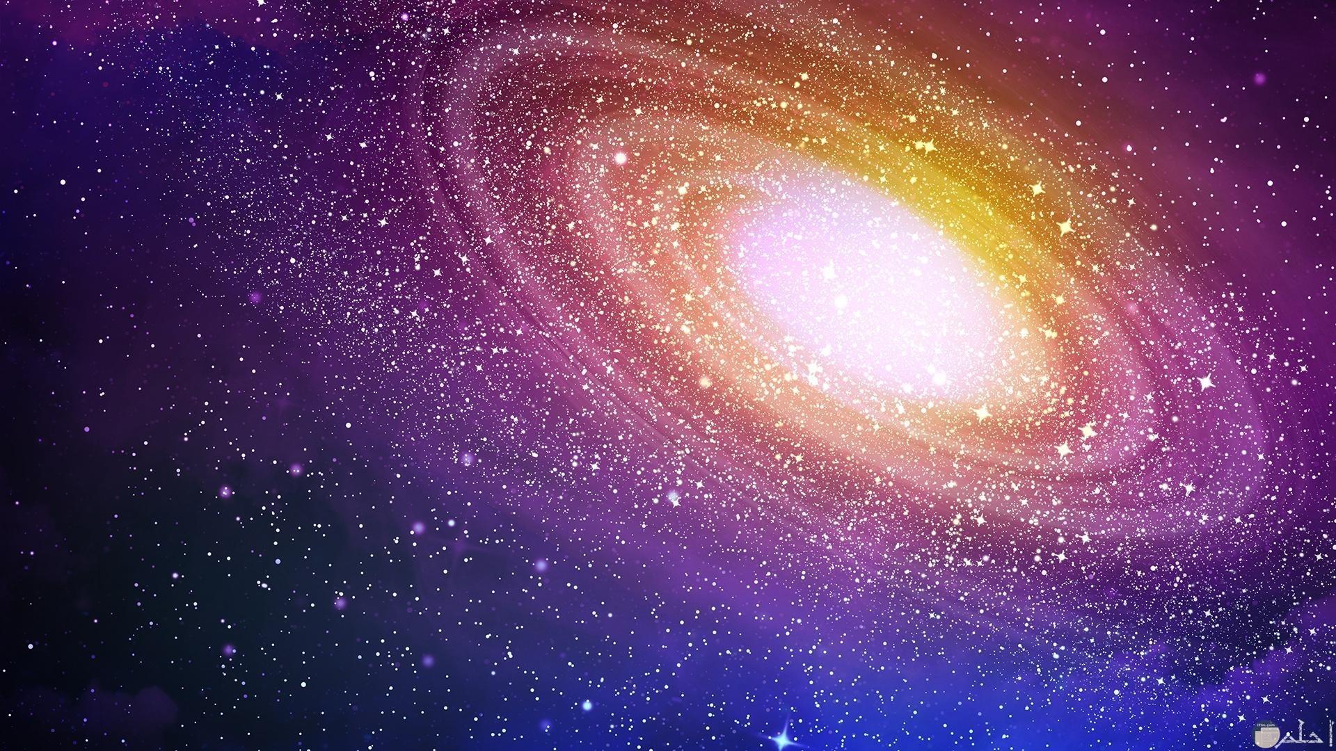 كواكب ونجوم لامعه