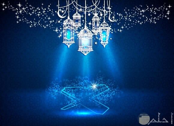 خلفية فوانيس رمضان