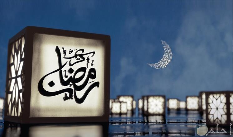 خلفية هلال رمضان