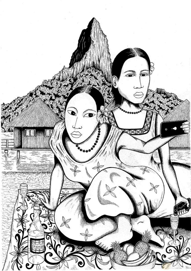 رسمة شعبي و تصوير السلفي في الطبقات الشعبية.