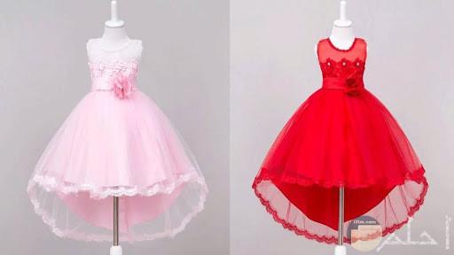 فستان احمر واخر روز