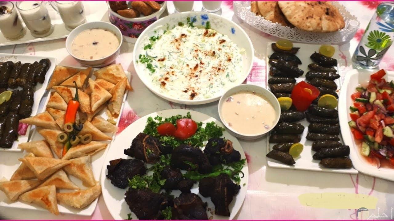 صورة أكل رمضان الشهى.