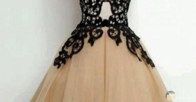فستان رقيق جدا