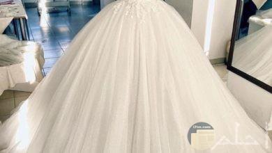 فستان زفاف شيك