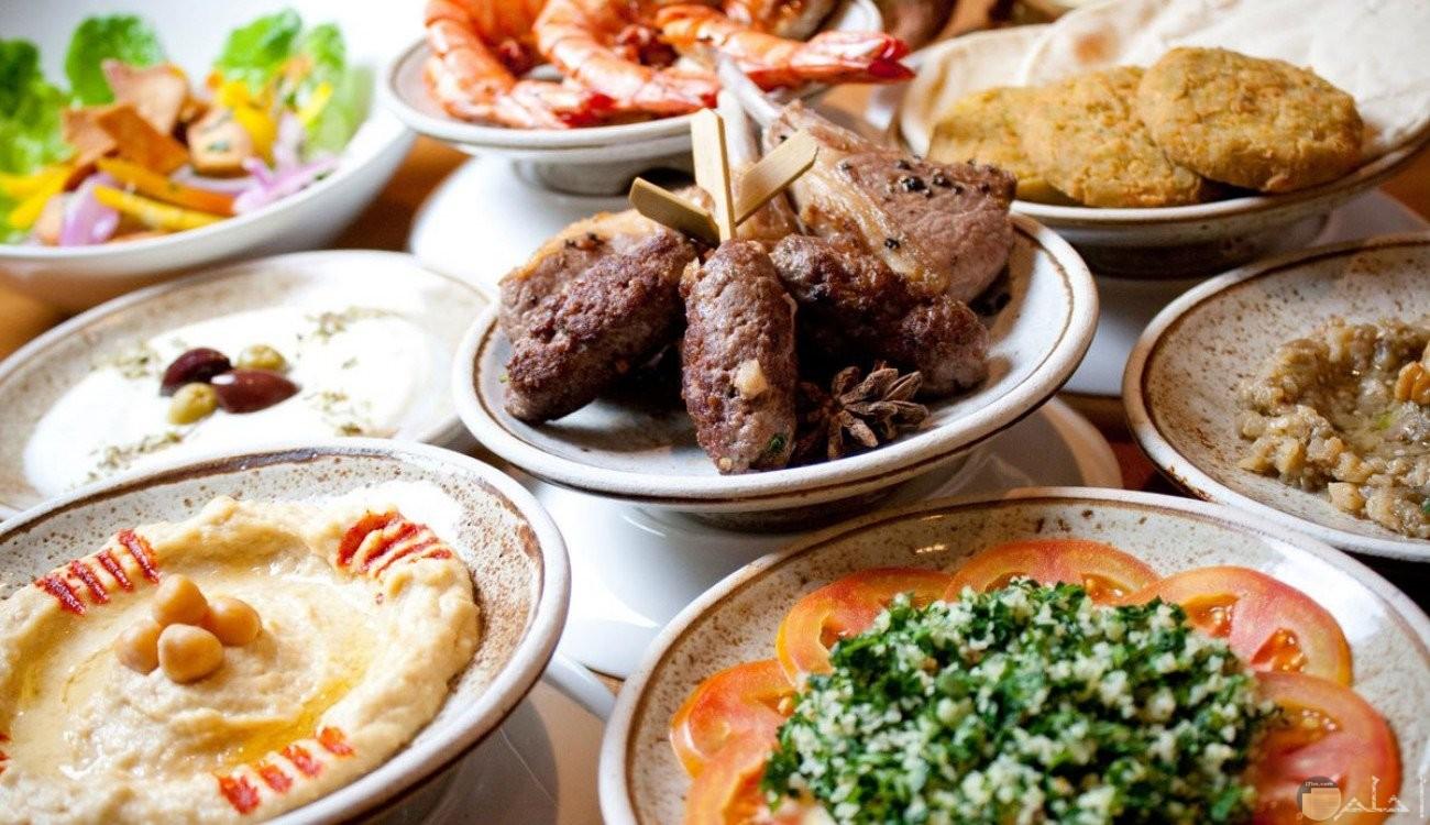 صورة أكل مشوى لرمضان.