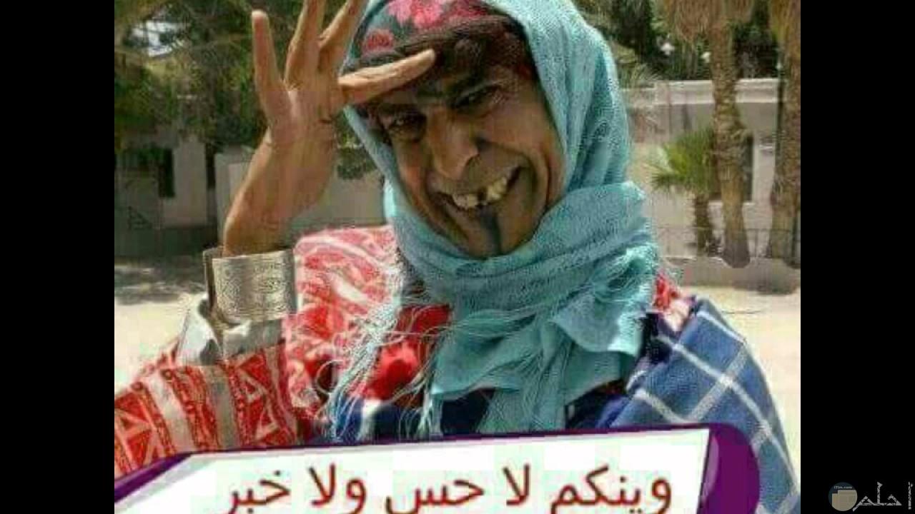 وينكم لا حس ولا خبر
