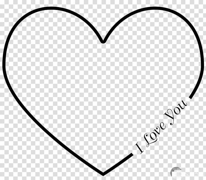 قلب مرسوم بشكل جميل مكتوب عليه ilove you